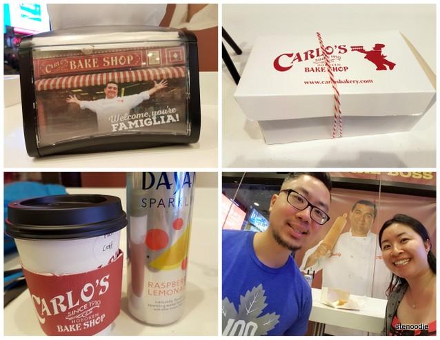 Carlo's Bakery goods