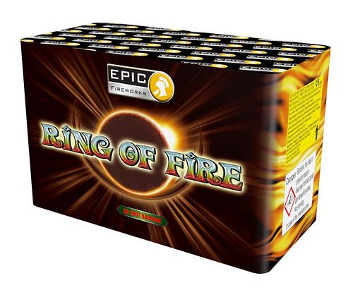 50 Shot Ring Of Fire Barrage #EpicFireworks