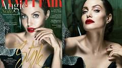 Angelina Jolie από τα... παλιά! Νέα σαγηνευτική φωτογράφιση για το Vanity Fair (φώτο)