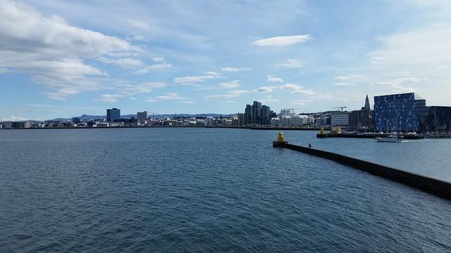 Hilltop View of Reykjavik