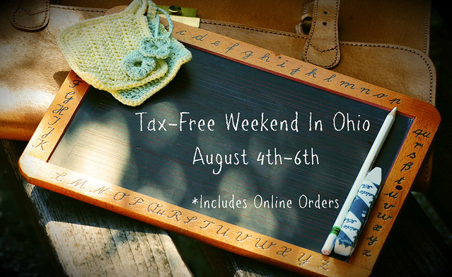 Tax-Free Weekend in OHIO