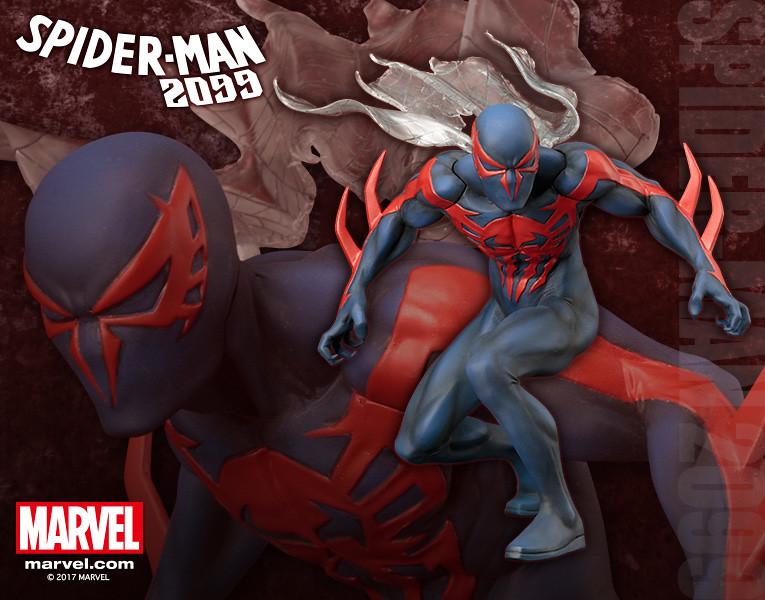 壽屋 ARTFX+ 系列【未來蜘蛛人】Spider-Man 2099 1/10 比例 全身雕像