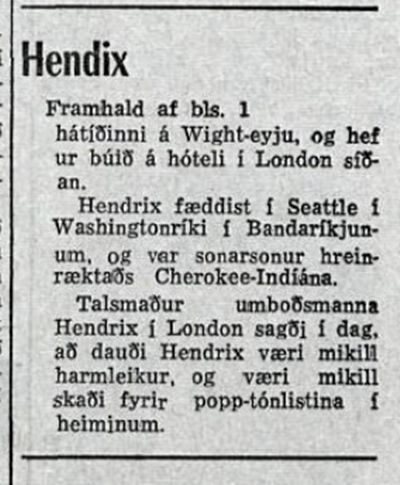 TIMINN (ICELAND) SEPTEMBER 19, 1970  2