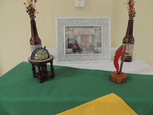 Solenidade de despedida dos Peruanos