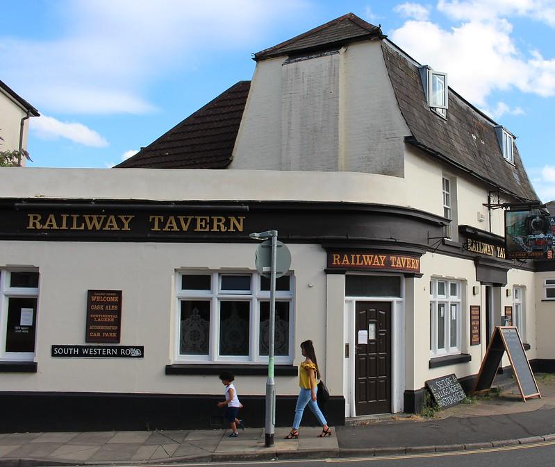 Railway Tavern, Salisbury, England