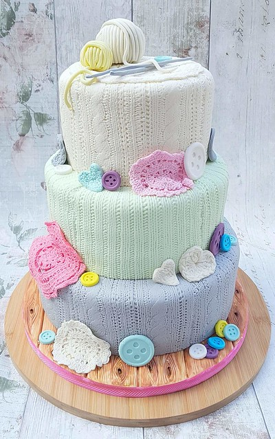 Cake by Stacey Astley of Sugar Crumb Fairy