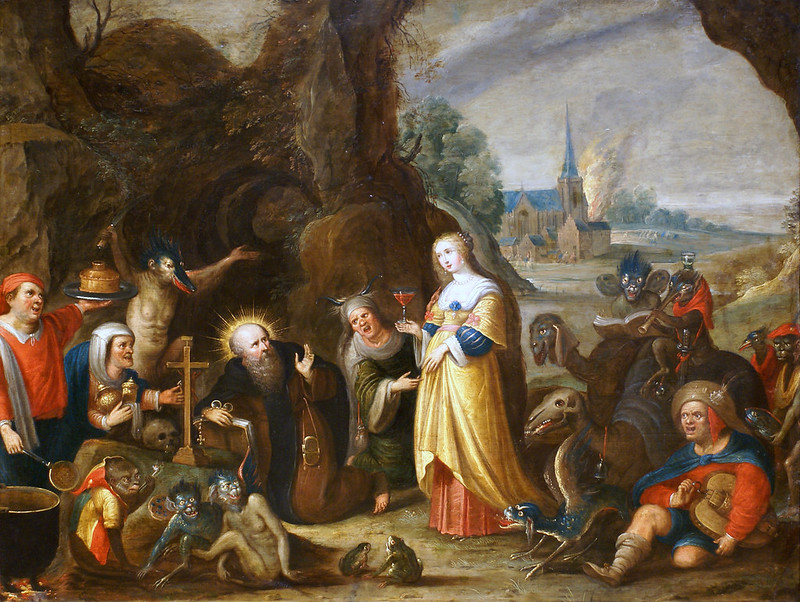 Frans Francken the Younger - Temptation of  Saint Anthony, 1610:15