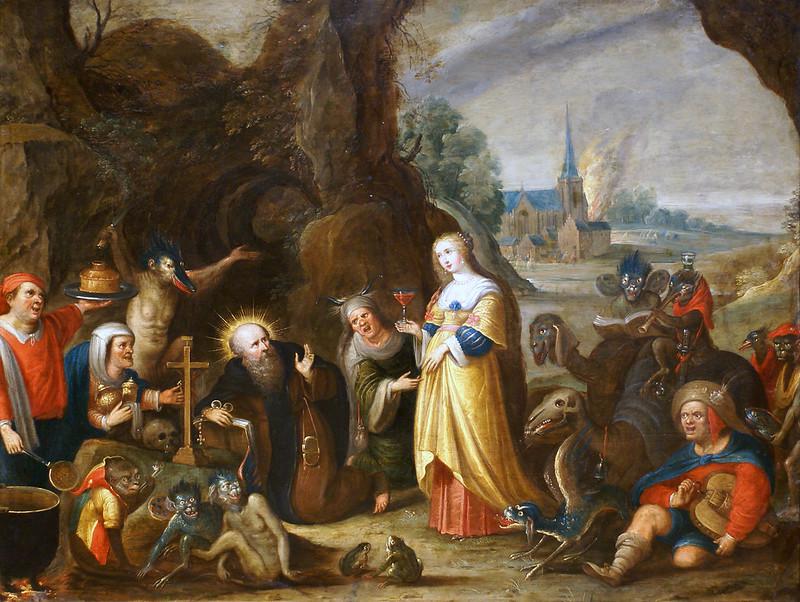 Frans Francken the Younger - Temptation of  Saint Anthony, 1610:15
