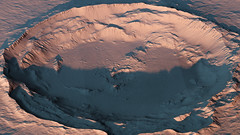 Domoni Crater on Mars