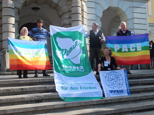 Flaggentag der Mayors for Peace Herford 2017