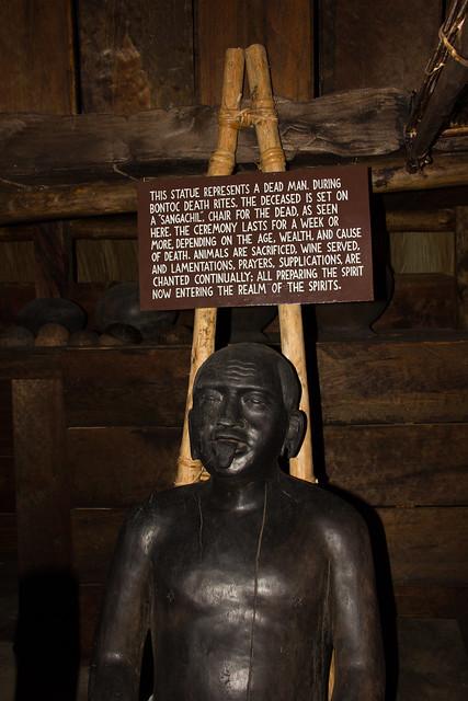 Dead Man Statue