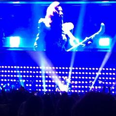 Lady Gaga with Keytar