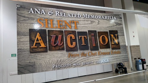 2017 ANA Krause Silent auction sign
