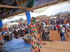 "Butembo North Kivu Province, DR Congo: Festival Amani, Stadium Matokeyo of Butembo Leo titled ""No to arms Yes to arts' organized by the coalition of local musicians of Butembo for the culture of peace."