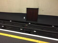 A secret door at Queensway station