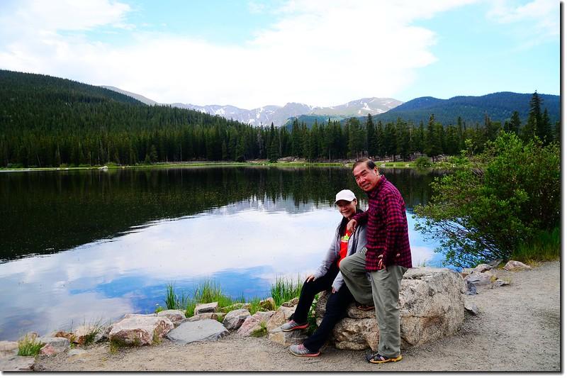 Echo Lake(3,230 m) 1