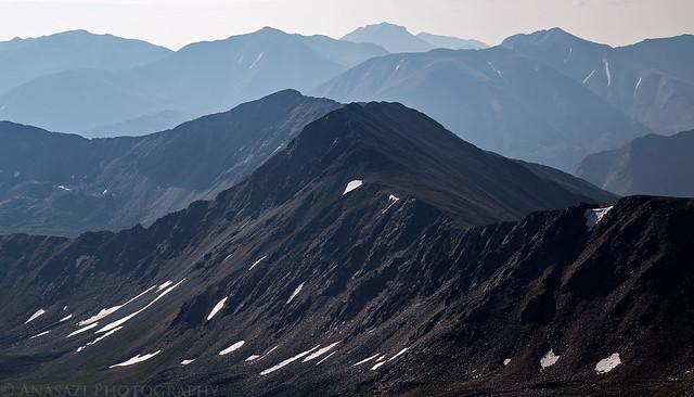 Hazy Peaks