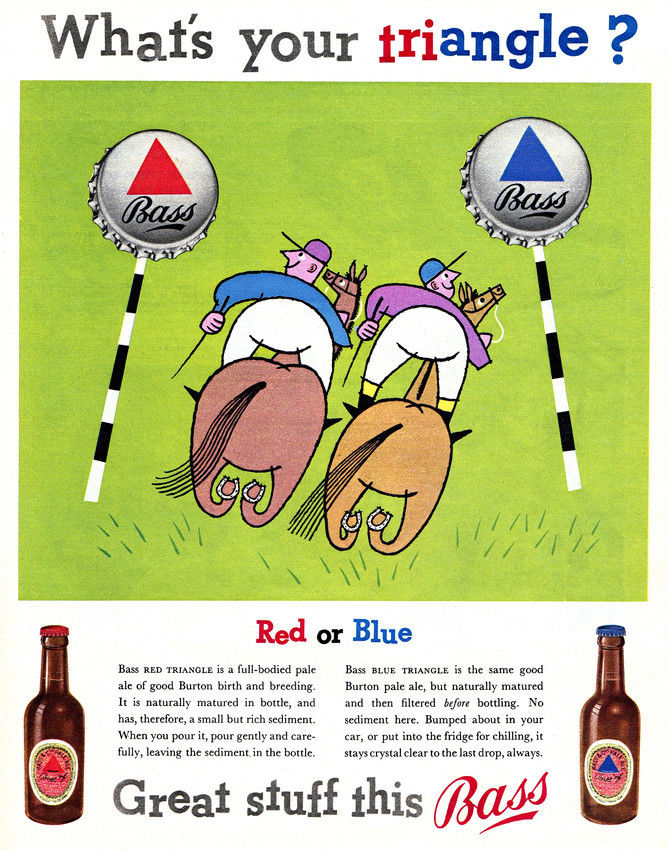 Bass-1950s-triangle-horse-racing