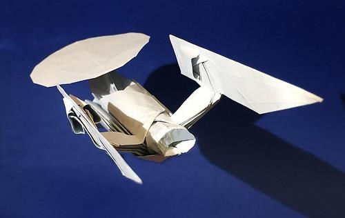 NCC-1701-A USS.Enterprise origami diagram High grade version