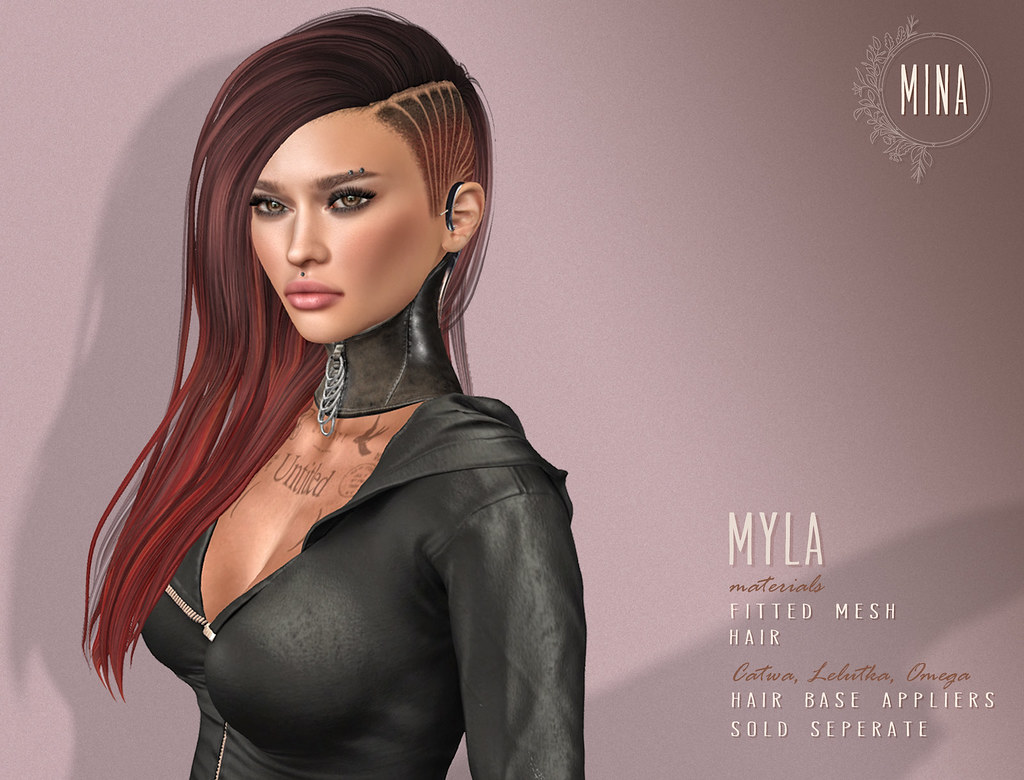 MINA Hair - Myla for Thereafter - SecondLifeHub.com