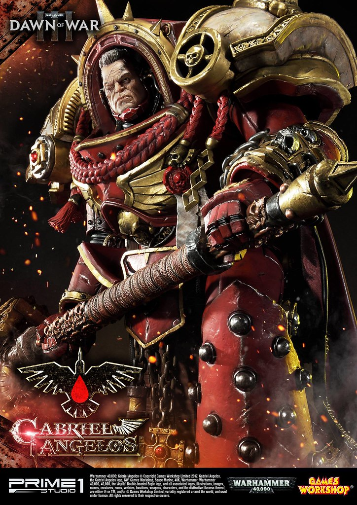 Prime 1 Studio - 《戰鎚40000 : 破曉之戰3》加百列‧安傑羅 GABRIEL ANGELOS (Warhammer 40000: Dawn of War 3)