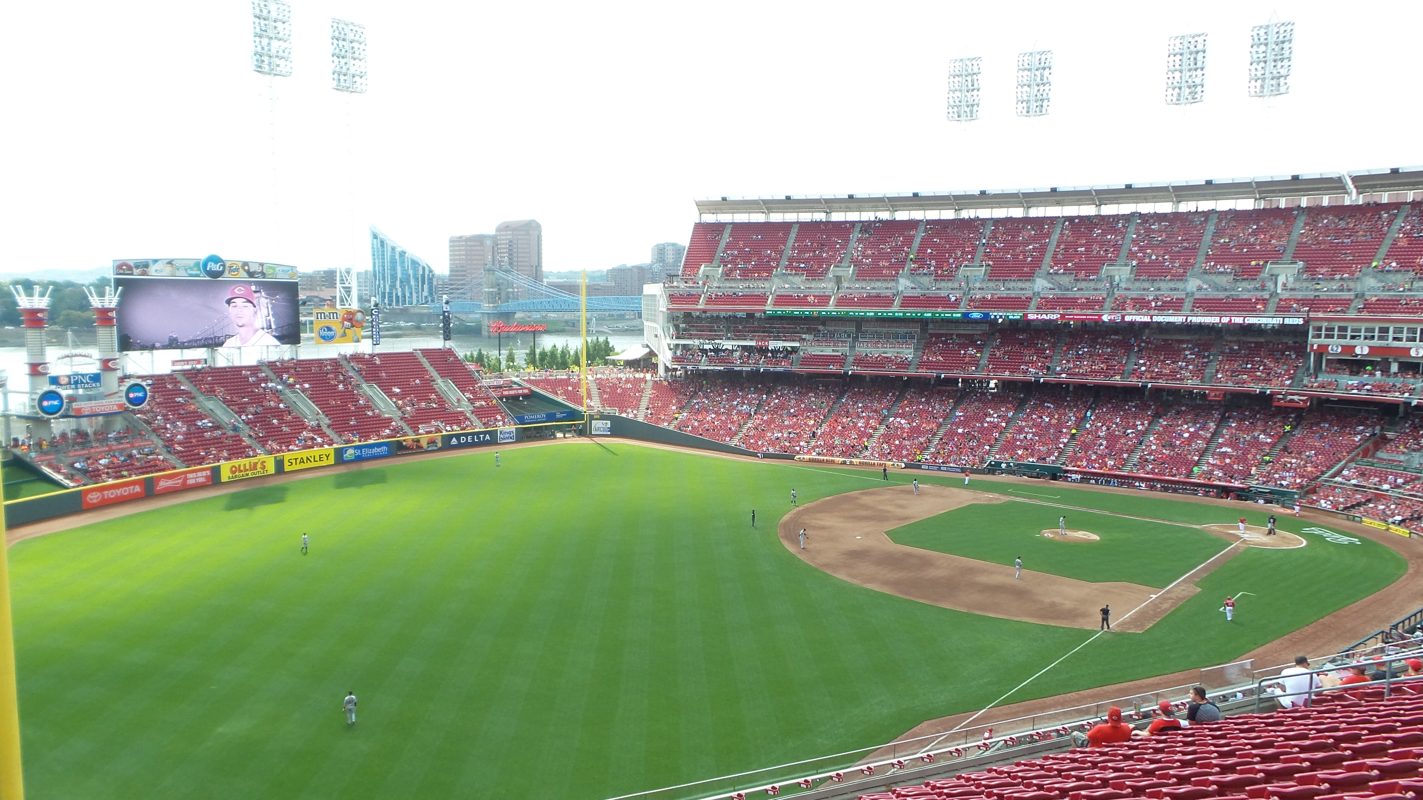The Reds were really racking up the Ks today…