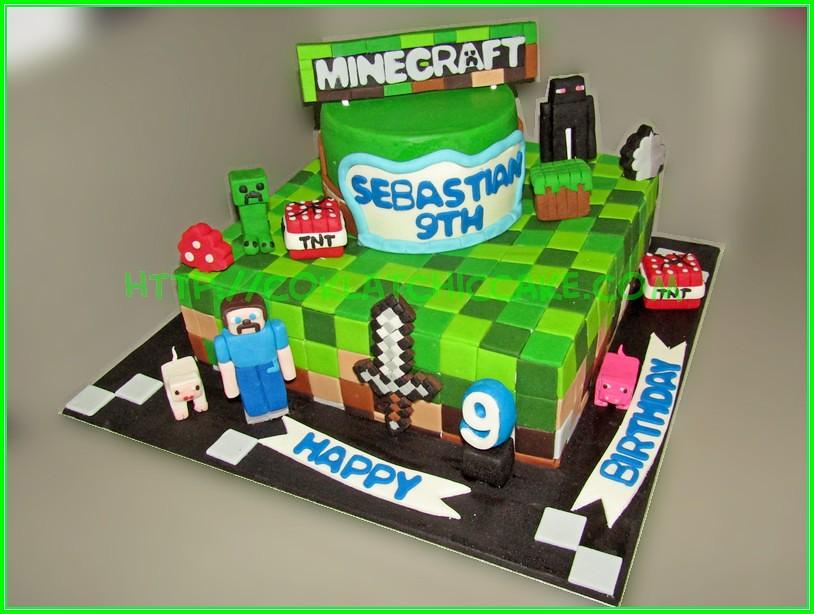 cake minecraft Sebastian