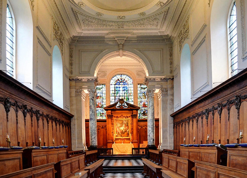 Pembroke College Chapel. Credit Baz Richardson, flickr