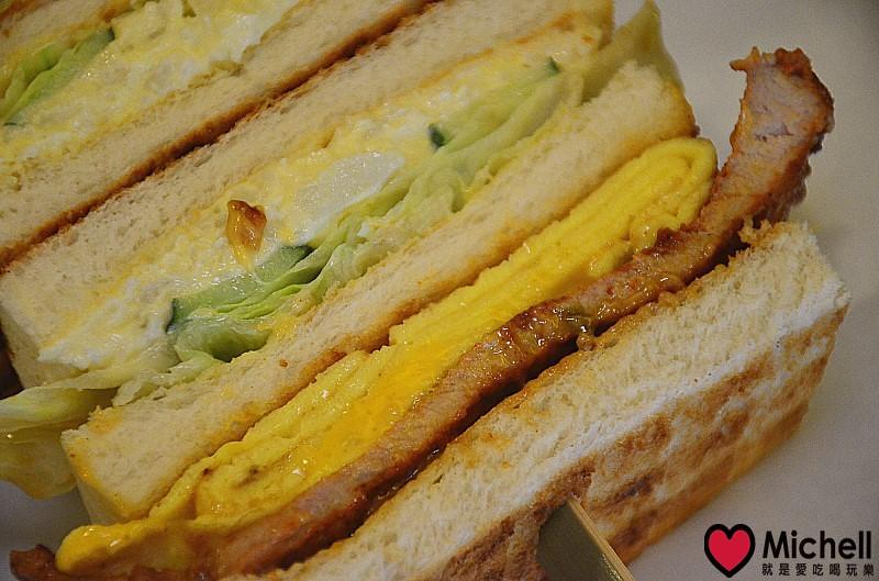 台北士林【兔司兔司碳烤三明治專賣】