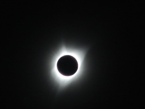 Solar eclipse totality, Unity, Oregon, 8/21/17