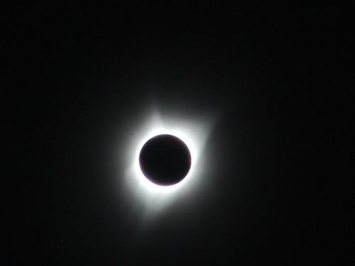 Solar eclipse totality, Unity, Oregon, 8/21/17
