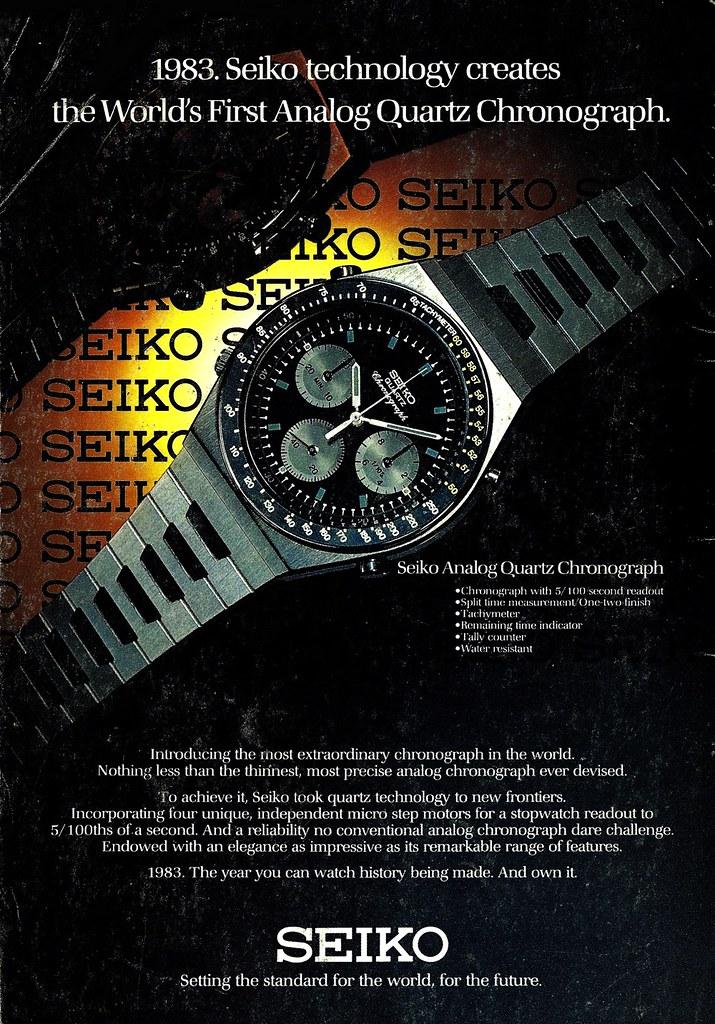 seiko chrono 1983 nat geo xx