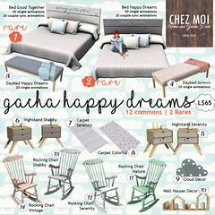 Gacha Happy Dreams CHEZ MOI
