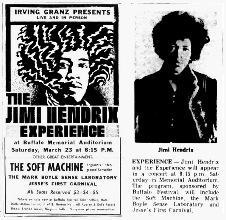 The Buffalo Courier Express - Buffalo, NY. 1968-03-17.