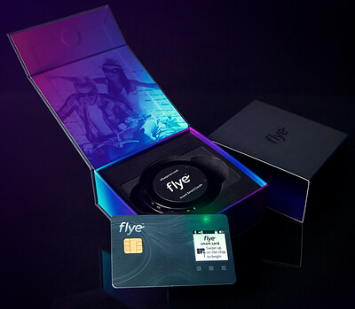 Flye Smart Card delivery