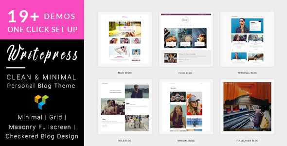 Writepress v1.0.4 – Personal Blog and Magazine WordPress Theme