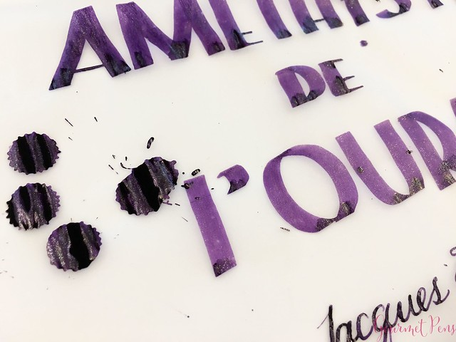 Ink Shot Review Jacques Herbin 1798 Améthyste de l'Oural 25