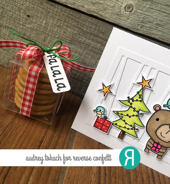 Christmas Bear Cube