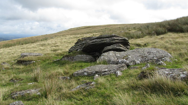 Granate Tor rocks between upper and lower pile