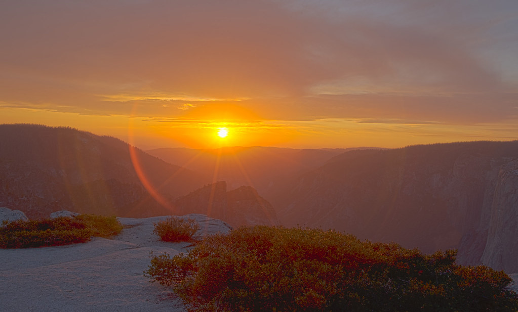 HDR_Taft Point Sunset