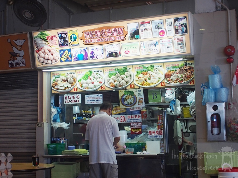 abc brickworks, abc brickworks market & food centre, abc market, food, food review, review, singapore, yong kee fish ball noodle, 榮记驰名鱼圆面, 鱼圆面, fish ball noodle