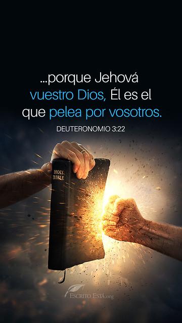 Vuestro Dios pelea por vosotros