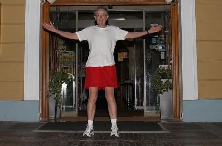 Za posledních 34 let jsem běh nevynechal ani jeden den, říkal Jan Tříska