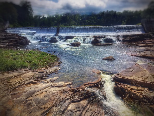 Dam at Ausable Chasm - Upstate New York