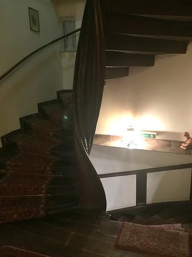 05 - Staircase / Treppenhaus - Hotel Zum Schwan - Oestrich-Winkel