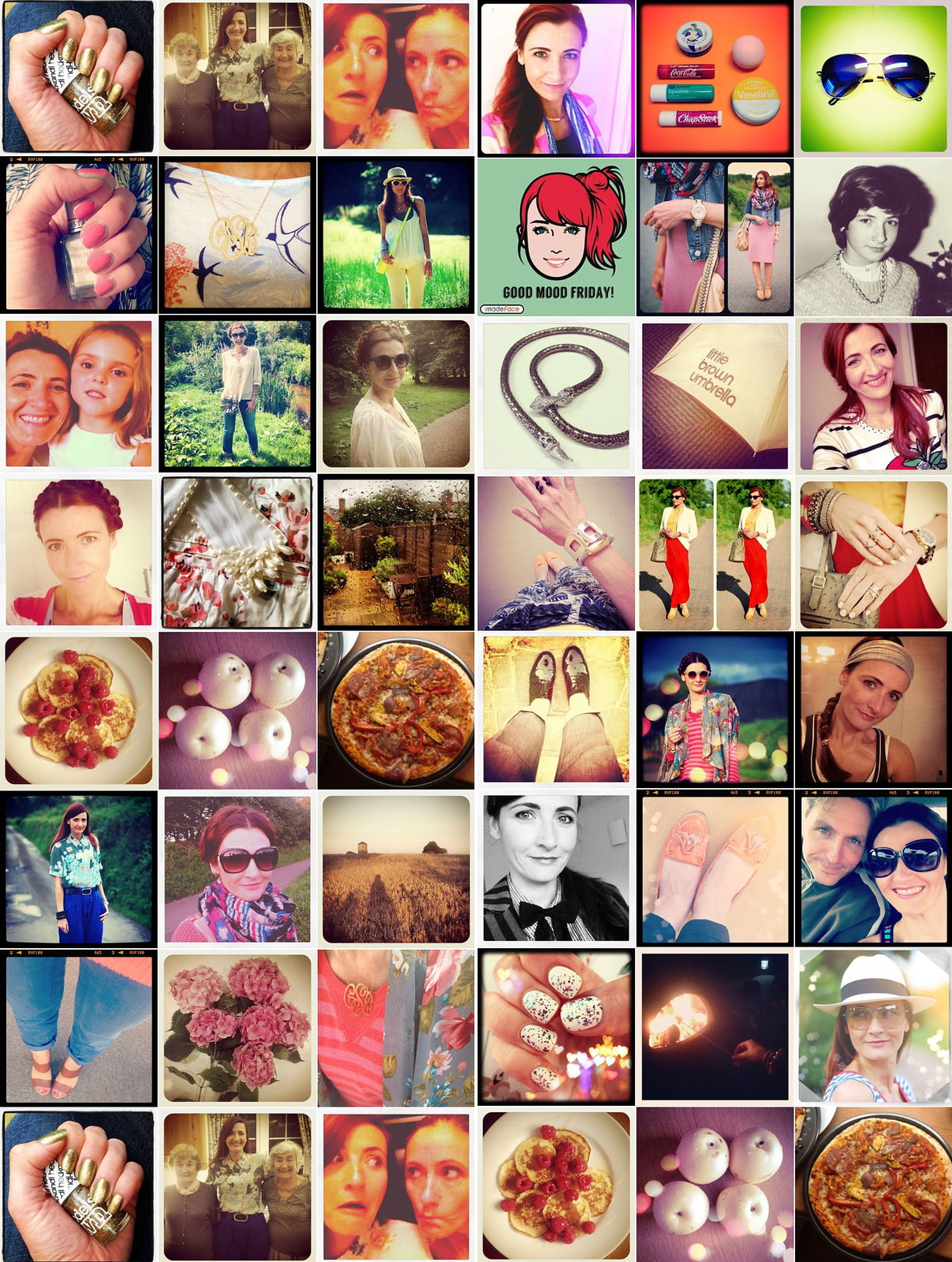 Instagram Before and Afters: An Amusing Look Back at My Old Instagram Posts