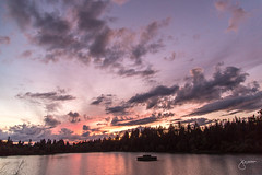 Sunset by Lost Lagoon, Stanley Park