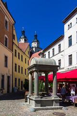 Der Holzmarkt mit Holzmarktbrunnen