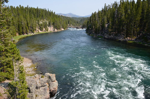 Yellowstone - a river