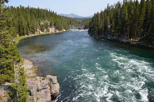 Yellowstone - a river